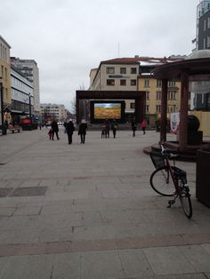 Lunta vain skriiniltä Oulussa helmikuun alussa. Ei ihan tavallista.