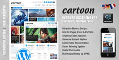 Cartoon: Responsive Portfolio/Blog/Corporate Theme - ThemeForest Item for Sale