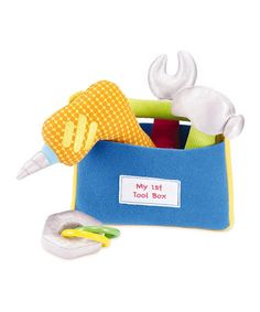 Take a look at this My First Tool Set by International Playthings on #zulily today!