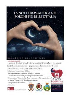 25 giugno, la notte romantica di Visso