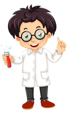 Buy Scientist by interactimages on GraphicRiver. Illustration of a scientist on a white background