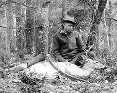 Hunter - Fred Bear of Bear Bows fame.