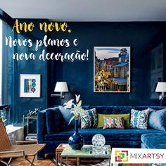2017 se aproxima, que tal começar o ano com a casa diferente? Um quadro faz toda a diferença, além de agregar um charme especial para qualquer ambiente! Conheça nossa galeria: www.mixartsy.com