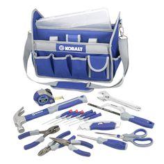 Shop Kobalt 22-Piece Tool Bag Set at Lowes.com