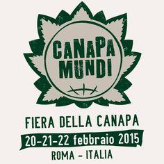 @CanapaMundi 20, 21, 22 febbraio #Roma Fiera della #Canapa e dei suoi derivati