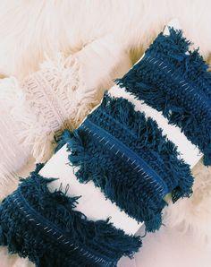 Fringe Pillow DIY with Ursula linen pillow case | Justina Blakeney