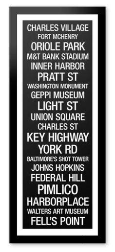 Framed City Bus Roll Canvas Prints