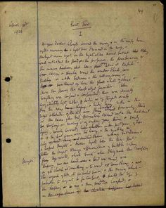 Virginia Woolf's manuscript of To the Lighthouse   http://www.facebook.com/VirginiaWoolfAuthor
