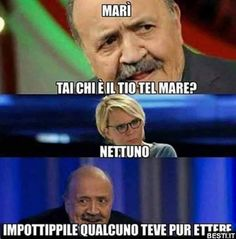 MARÌ TAI CHI È IL TIO TEL MARE?.. Funny Facts, Funny Jokes, Hilarious, Funny Cute, Weird But True, Italian Memes, Funny Scenes, Funny Phrases, Sarcasm Humor