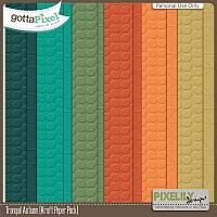 Tranquil Autumn [Kraft Paper Pack] $2.00