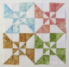 Lily Patch Quilts: Wishes Along BOM