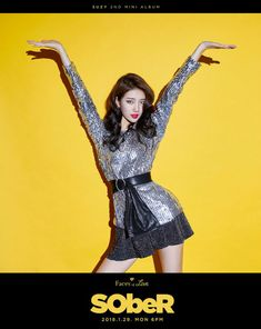 """Suzy has revealed her teaser images for """"Sober""""!""""Sober"""" is the latest track to be revealed for her upcoming mini album 'Face… Bae Suzy, Sober, Beautiful Asian Girls, Most Beautiful Women, All Fashion, Star Fashion, Actors Height, Miss A Suzy, My Love From The Star"""