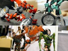 "Two-Wheeled Automobile Robots from Manga and Anime ""Rideback"" -WONDER FESTIVAL 2009 [SUMMER] - GIGAZINE"