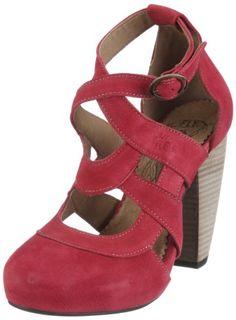 b06ca48e Fly London Women's Nale Green Ankle Strap Heels P142219000 5 UK: Amazon.co. uk: Shoes & Bags