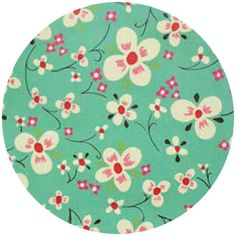 Alexander Henry Farmdale Blossom Turquoise