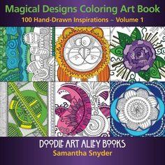 Magical Designs Coloring Art Book - Volume 1