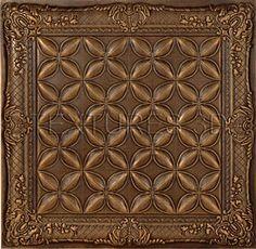 decorative faux leather tile