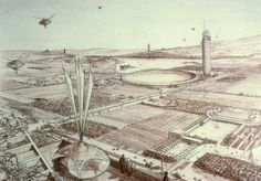 frank lloyd wright drawings   Frank Lloyd Wright on Drawing - Part Three / Un-built Work - BeLoose ...
