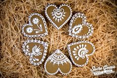 Iced Gingerbread Cookies   by Sucre Coeur - Eats & Ink