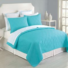little space turquoise bedding #28625