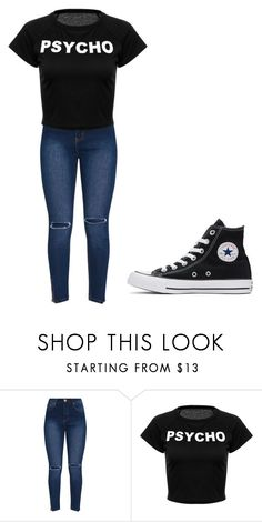 """""""Untitled #318"""" by thenerdyfairy on Polyvore featuring Converse"""