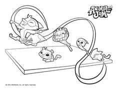 Animal Jam Carnival Coloring Page Fooooood Animal Jam