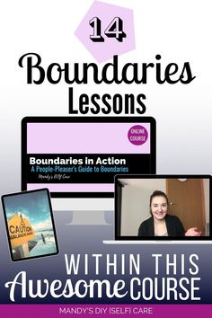 How to Set Healthy Boundaries Course for saying no to mother, friends. Personal boundaries help us take care of ourselves better #peoplepleasing #sayno Mental Health Therapy, Personal Boundaries, Learn To Fight, Self Care Routine, Coping Skills, Art Therapy, Take Care Of Yourself, What Is Like, Self Esteem
