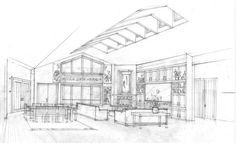 Sketch. Architecture.