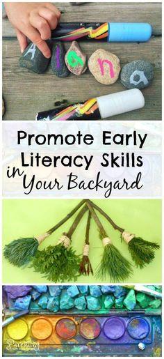 Backyard Learning: 25+ Easy Play-Based Learning Ideas