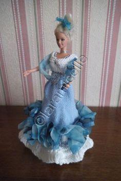 tuto gratuit barbie: tenue princesse Victoria