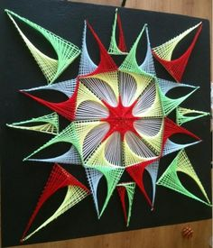 3d string art tutorial - Google Search