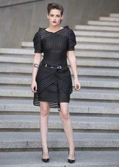 Kristen Stewart.. Chanel Cruise 2016 dress..... - Celebrity Fashion Trends