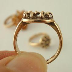 SALE Bronze Ring Base  Adjustable от UnkamenSupplies на Etsy, $6.00
