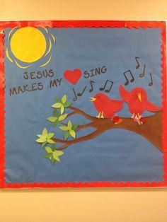 Bulletin board ideas- post your favorite song lyrics