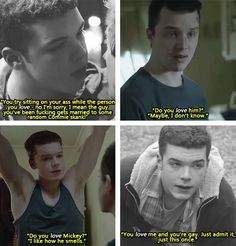 Gallavich. Greatest love story ever.<3
