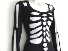 DIY Skeleton Halloween Costume | Fashion blog | Oxfam GB  Deffo trying this!