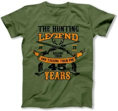 MENS - The Hunting Legend 45 Years Old - DAT-1449
