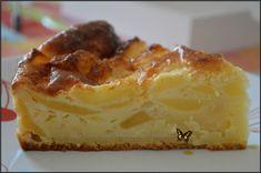 un pure délice ;-) Avis perso : J'avais envie d'un gâteau aux pommes.... et fallait je fasse avec ce qu'il me restait loll... et je voulais pas mettre d'huile dans se gâteau a base de yaourt.... et j'adore il est trop bon ;-) Ingrédients : 1 yaourt sucré...