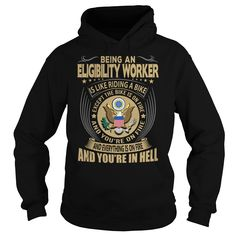 Eligibility Worker We Do Precision Guess Work Questionable Knowledge T-Shirts, Hoodies. GET IT ==► https://www.sunfrog.com/Jobs/Eligibility-Worker-Job-Title-104205375-Black-Hoodie.html?id=41382