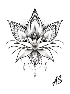 Tattoos - Mandala Dotwork Lotus Artwork by Adison Tattoos Tattoosquotes flowerTattoos Tattoosfonts watercolorTattoos Ale – Tattoos Lotus Tattoo Design, Flower Tattoo Designs, Design Tattoos, Body Art Tattoos, Small Tattoos, Unique Tattoos, Lotus Artwork, Mandala Artwork, Mandalas Painting