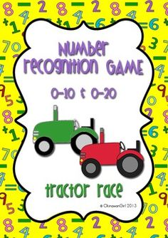 This is a classroom tested game focusing on developing students ability to identify numbers (0-10 or 0-20).