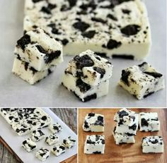 Cookies n cream fudge