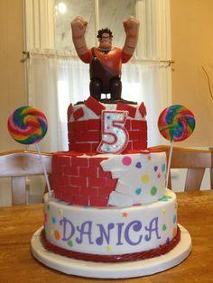 Trolls Birthday Cake Teyah S Birthday Party Pinterest
