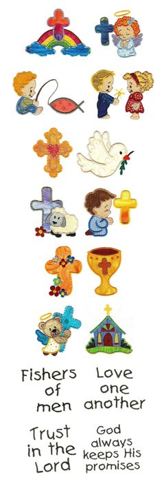 Children\'s Bible 6 - 2 Sizes! | Religious | Machine Embroidery ...