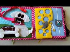 How to make a no sew quiet book tutorial youtube bastelideen quiet book no sew 32 pages lots of ideas template pronofoot35fo Gallery