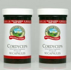 Naturessunshine Cordyceps Supports Kidneys Fuction Herbal Food Supplement 90 Capsules (Pack of 2) Nature's Sunshine,