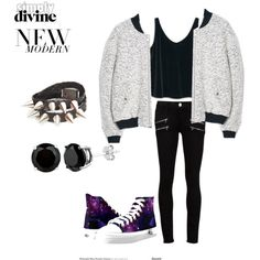Simple and casual new look by daka-khairuni on Polyvore featuring MANGO and Paige Denim