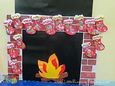 Christmas theme class decor