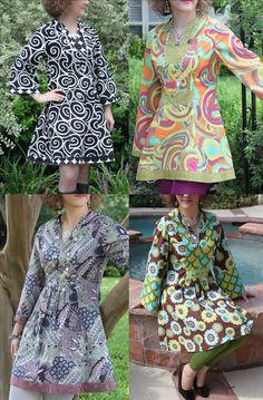 Priscilla Tunic Sewing Pattern