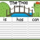 Here are 3 graphic organizers to help your students write about the troll from the story The Three Billy Goats Gruff.  I gave you the option of eit...